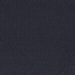 Midnight Cotton Herringbone