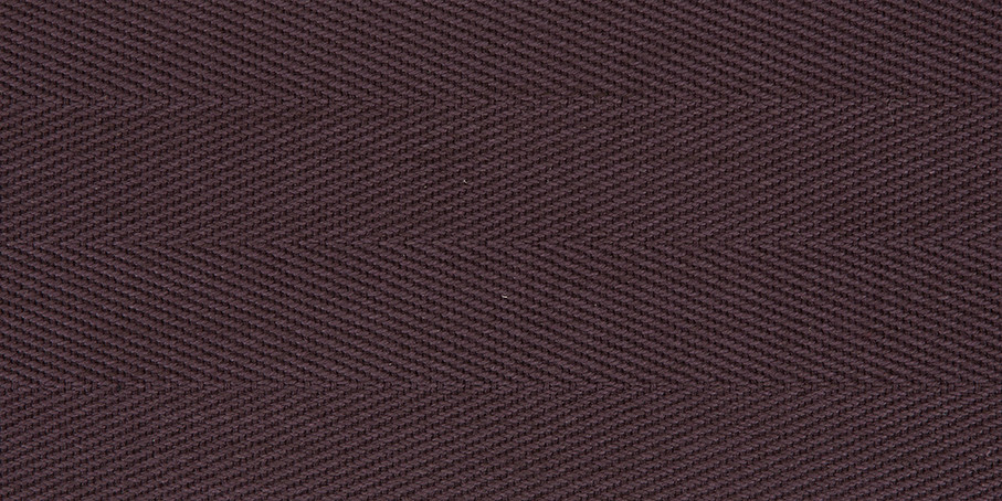 Chestnut Cotton Herringbone