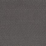 Gravel Cotton Herringbone