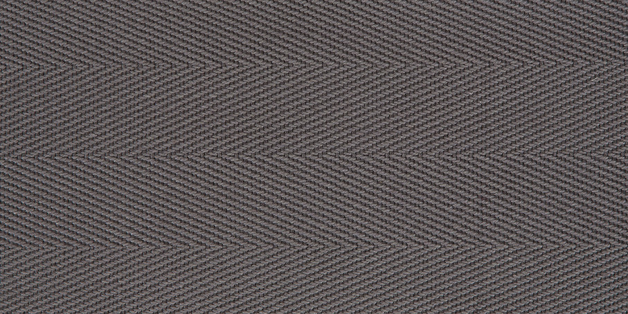 Gravel Cotton Herringbone