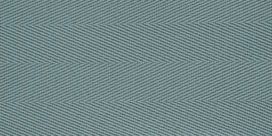 Blue Lagoon Cotton Herringbone