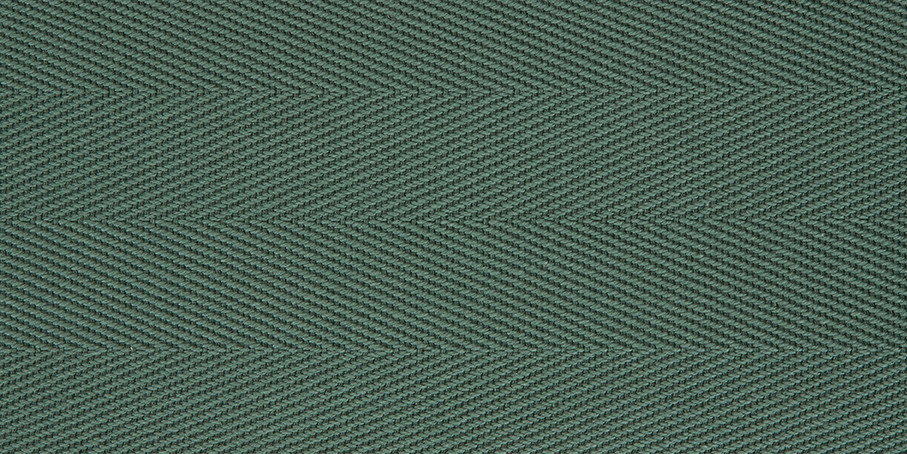 Sage Cotton Herringbone