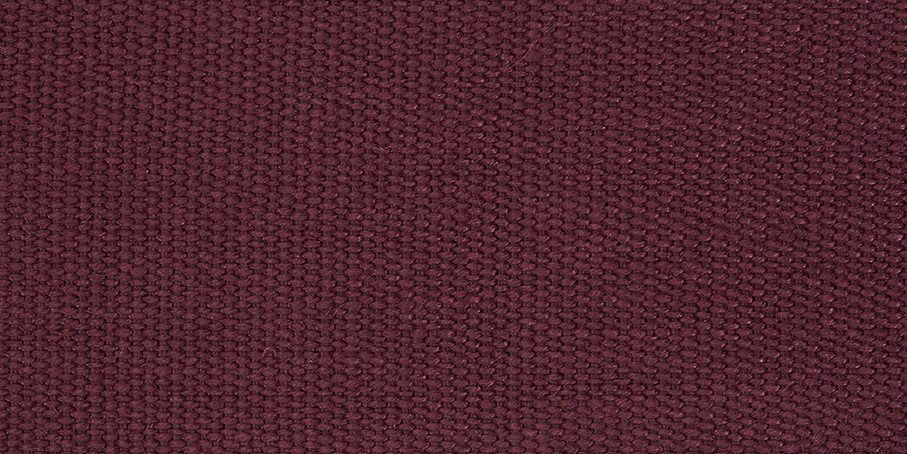 Burgundy Linen Basketweave